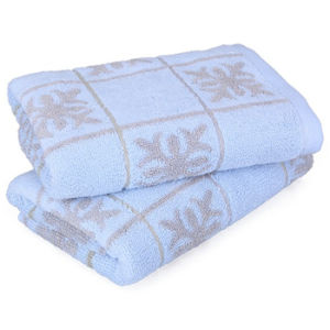 Microfiber Jacquard Full Size Bath Towel in Any Color