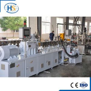 PP PE HDPE Granulating Plastic Twin Screw Extruder