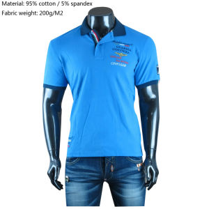 Custom Clothing Plain/Stripe High Quality Embroidery Logo Apparel 100% Cotton Pique/Jersey Dress Men′s Golf Polo Shirts
