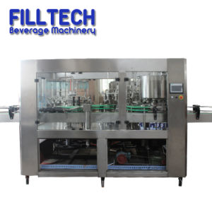 Full Automatic Tin Can Juice Water Liquid Beverage Filling Bottling Packing Packaging Equipment
