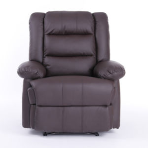European Style One Seat Synthetic Leather Recliner Sofa Chair