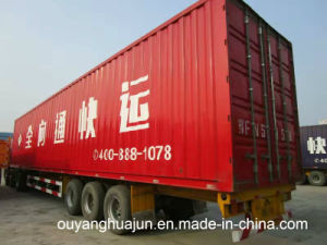 30 Feet Container Truck Trailer pictures & photos