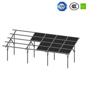 Screw Pile Foundation Ground Mounting System