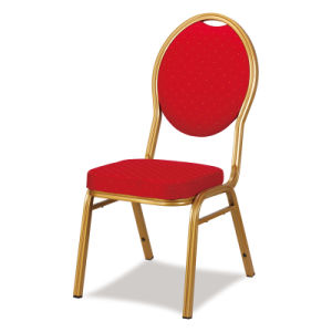 Comfortable Good Quality Stackable Metal Hotel Banquet Chair pictures & photos