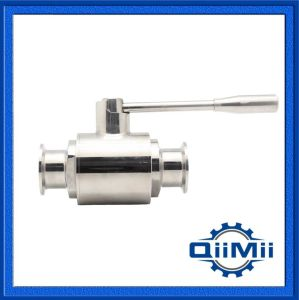 Sanitary Clamp Ball Valve Stainless Steel Manul Handle 2 Inch pictures & photos
