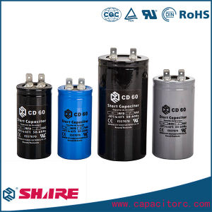 Aluminum Electrolytic Capacitor CD60b-1 250VAC pictures & photos