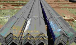 Q235, Ss400 Hot Rolled Structural Equal Angle Steel, Steel Angle