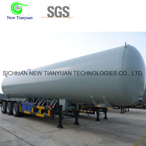 40m3 Volume 1.8MPa Pressure Lar Liquid Storage Tank Semi Trailer