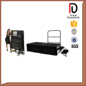 High Quality Metal Frame Red Carpet Movable Stage Br-St00 pictures & photos