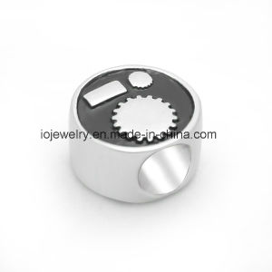 Custom Jewelry Custom Metal Logo Bead pictures & photos