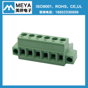 5.0mm 5.08mm 7.5mm 7.62mm Pitch 4p Terminal Block with Socket pictures & photos