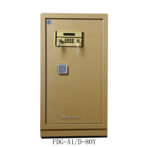 Security Home Safe Box with Digital Lock-Champagne Gold Seriers Fdx A1/D 80-Y pictures & photos
