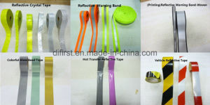 High Luster Reflective Tape with En, 100% Polyester, R′>420 (DFT1002) pictures & photos