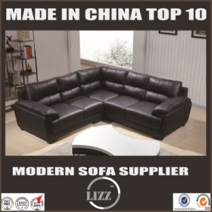 Hot Sale Home Furniture Top Leather Sofa 371 pictures & photos