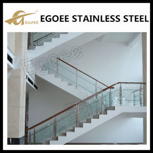 High Quality Balcony Stainless Steel Glass Railing Design, Glass Balcony Railing pictures & photos