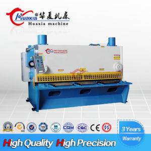 QC11k Special Function Guillotine Hydraulic CNC Controllers Shearing Cutting Machine Huaxia pictures & photos