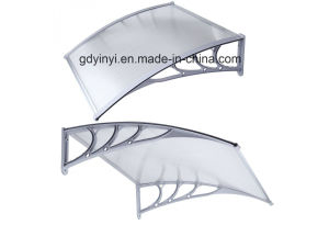 Hot Sale Outdoor Clear Door Window Polycarbonate Awning (YY800-B) pictures & photos
