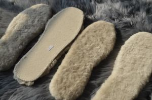 Real Australain Sheep Fur Shoes Insoles