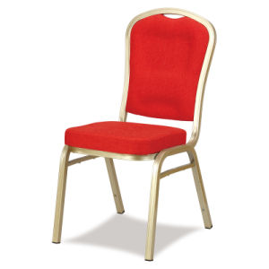 Comfortable Back Steel Stackable Banquet Chair pictures & photos