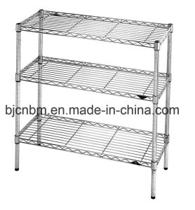 Carbon Steel Chrome Wire Mesh Anti-Static Industrial Shelving pictures & photos