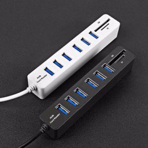 USB 2.0 Hub High Speed SD/TF Card Reader