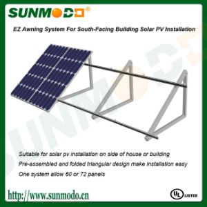 Aluminum Solar Panel Wall Mounting Systems