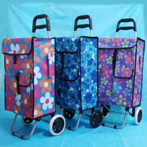 New Strong Waterproof Lightweight 2 Wheeled Shopping Trolley pictures & photos