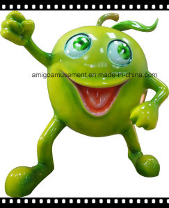 Fiberglass Decoration Toy of Green Apple pictures & photos
