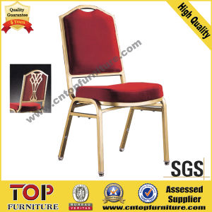 Classy Steel/ Aluminium Mold Foam Banquet Stackable Wedding Chair pictures & photos