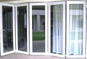 Wonderful European Style Aluminum Folding Glass Patio Doors