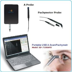 Portable USB Ophthalmic a Scan, Pachymeter, Pachymetry pictures & photos