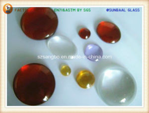 Glass Gem/Crystal Ball/Glass Ball/Glass Bead pictures & photos