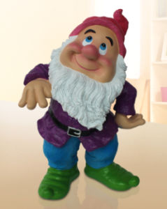 china polyresin seven dwarfs resin garden gnome figurine china