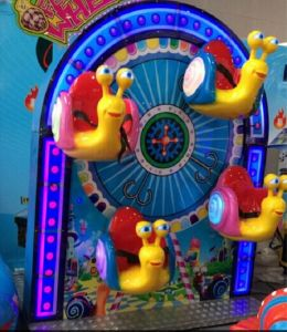 Kiddie Ride Snail Chair Coin Operated Game Machine (NC-LE038)