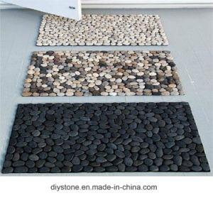 China Natural Pebble Stone Floor Mat