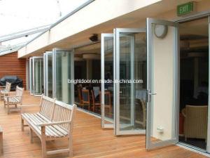 Triple Glazed Exterior Bi Folding Doors for Commercial