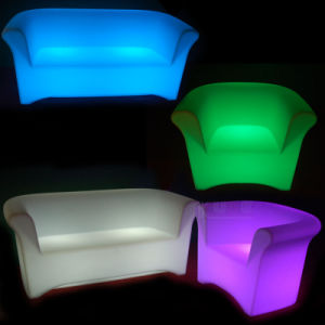 Illuminated Couch Single LED Sofa LED Arm Chesterfield pictures & photos