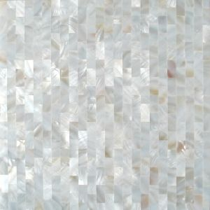 China rectangle brick pattern white mother of pearl shell mosaic rectangle brick pattern white mother of pearl shell mosaic tile for backsplash tile stf010 ppazfo