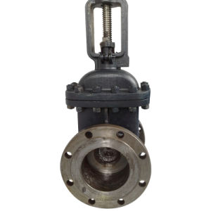 ANSI/ASTM Flanged Gate Valve (WCB/SS304 RF 150LB) pictures & photos