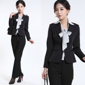 Fashion Style Lady′s Office Uniform pictures & photos