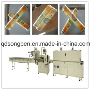 Noodle Shrink Packing Machine with Feeder pictures & photos