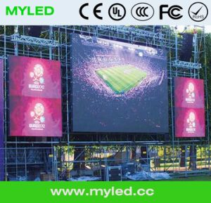 Outdoor and Indoor Die Casting LED Display (High brightness and cost effective)