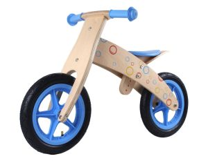 2017 Hot Selling 12inch Wooden Balancing Training Bike for Kids 4 Levels Adjustable Balancing Training Bike