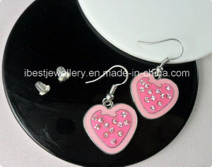 Fashion Jewelry-Strawberry Rhinestones Earring