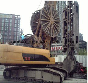 TG50 hydraulic system crawler mounted powerful diaphragm wall grab pictures & photos