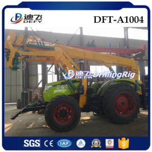 Tractor Mounted Pole Planter in Indonesia pictures & photos