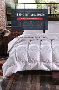 White Goose Down Quilts/Duvet for Home Bedding, Hotel pictures & photos