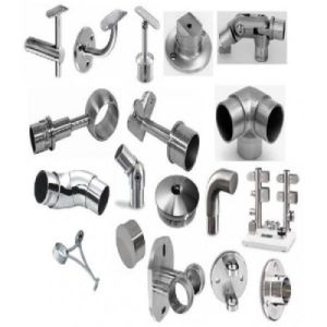 Stainless Steel Precision Casting Parts Glass Fitting Handrail Rail Fittings pictures & photos