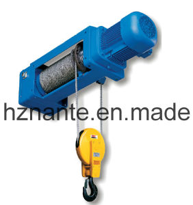 Foot-Mounted Wire Rope Hoist WHF-B (2/1 ROPEREEVING) pictures & photos