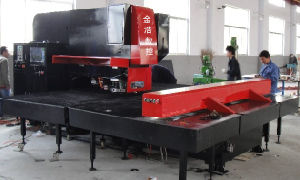 Cheap Chinese Marketing CNC Turret Punching Press Bed for Sale